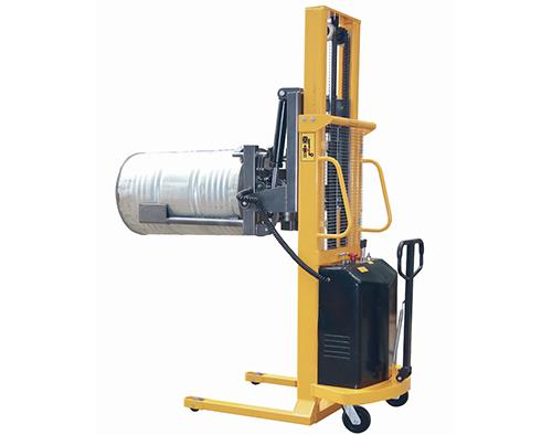 半电动油桶堆放车(2节门架)