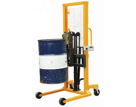 液压油桶称重堆高车(仪表选配)